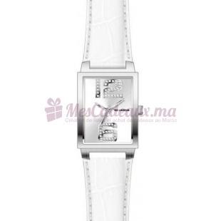Montre - Ted Lapidus - Bracelet Cuir Blanc D0485Rbaf