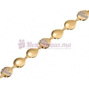 Bracelet Talisman - Plaqué Or - Ted Lapidus D53002Z