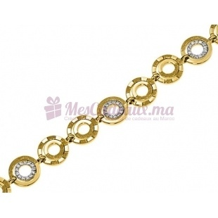 Bracelet Cosmos - Plaqué Or - Ted Lapidus D53005Z