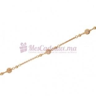 Bracelet Sevilla - Plaqué Or - Ted Lapidus D53020Z