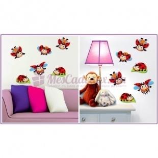 Stickers Coccinelles pour décoration - Small Foot