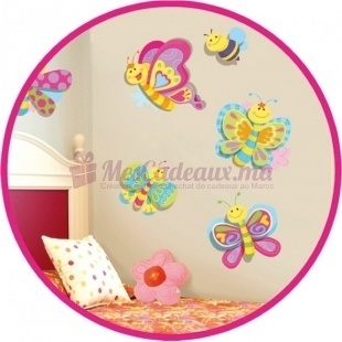 Stickers Papillons pour décoration - Small Foot