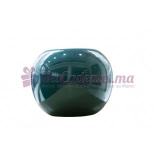 Duo Vase boule et Vase arrondi uni vert
