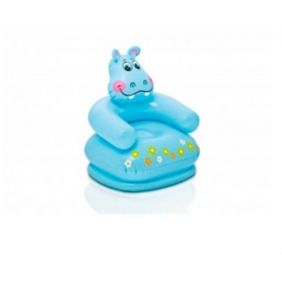 Mini chaise gonflable Hippo