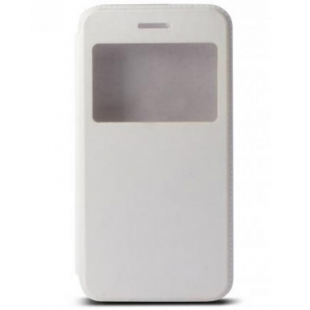 Ksix - Flip case pour iPhone 6, 6S White