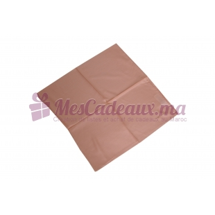 Foulard en fibre de soie-Saumon