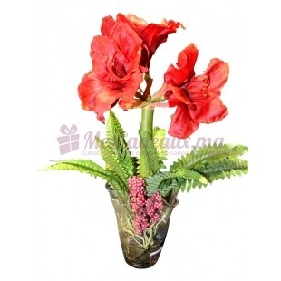 Vase moyen transparent