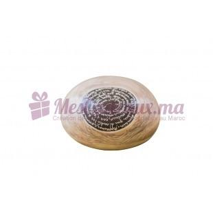 Galet décoratif en céramique