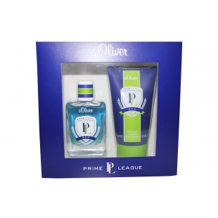 Parfum + gel prime league for men