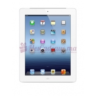 iPad avec écran Retina Blanc - Apple - 64 Go WiFi + Cellular