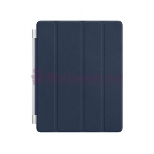 Ipad Smart Cover Cuir Bleu marine - Apple