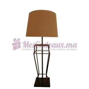 Lampe Buste Cuivrée