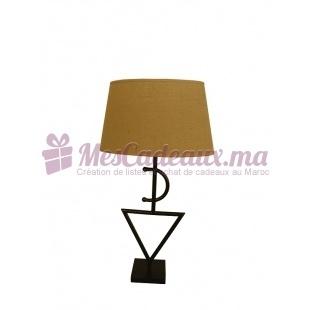 Lampe Fibule Cuivrée