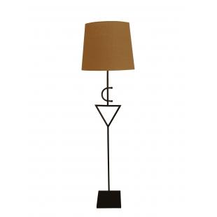 Lampe sur pied Fibule Cuivrée