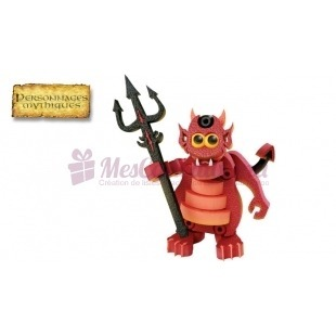 Little devil 3D  (jeu de construction) - Blocotoys
