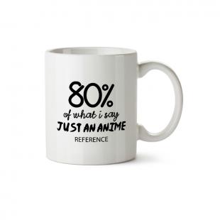 Mug 80% anime