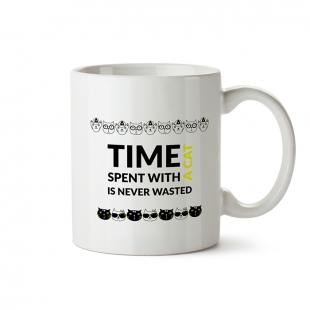 Mug Time with Cat