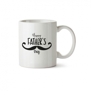 Mug Happy Father's Day grande moustache