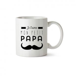 Mug Je t'aime mon petit papa