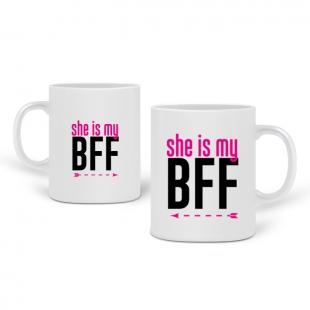 Pair de mugs best friends