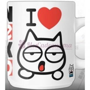 Mug I Love Neko - Neko - Avec sa Boîte Cadeau