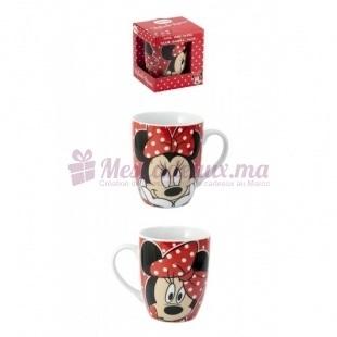 Mug Porcelaine Minnie avec Boîte Cadeau - Disney