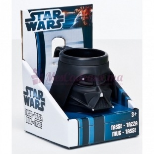 Mug Plastique 3D Darth Vader - Star wars