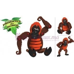 Orang Outan  (jeu de construction) - Blocotoys