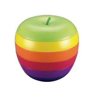 Set assiettes pomme