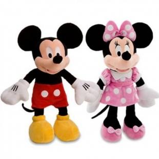 Peluche Mickey/Minnie - 50 cm