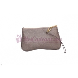 Pochette dragonne GM marron