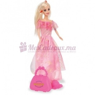 Poupée La Princesse Caroline avec 4 Robes - Small Foot - 30 cm