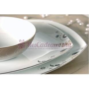 Service de table Flower Rain Platina - Spal porcelanas