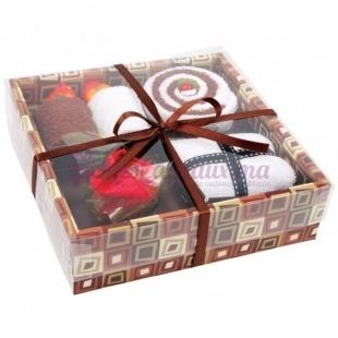 Coffret Cadeau 5 Serviettes Gâteaux