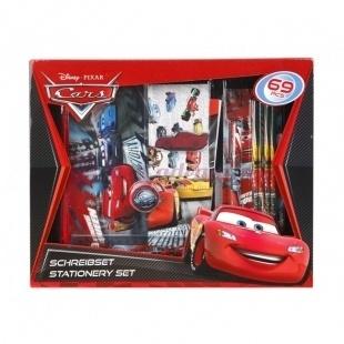 Set Papeterie Cars -Disney - 69 Pièces