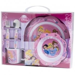 Set Petit Déjeuner Princess avec sa Boîte Cadeau - Disney