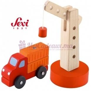 Grue Avec Camion - Sevi - 8 cm