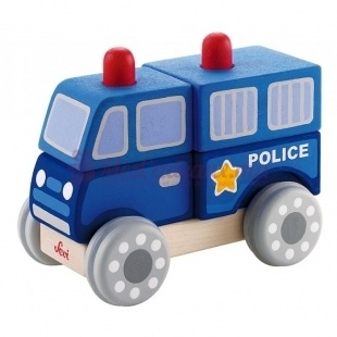 Jeu Emboîtement Police - Sevi - 13 cm