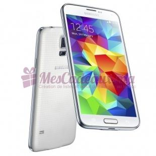 SAMSUNG Galaxy S5 Blanc  + Netoyyant smarthone offert