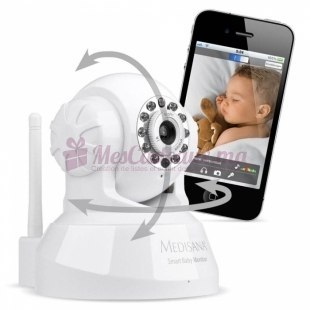 Caméra Smart Baby Monitor - Medisana