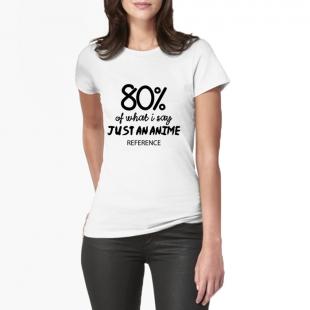 T-shirt 80% anime