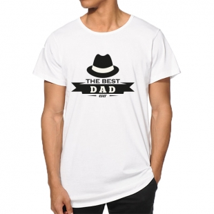 T-shirt The bes dad ever