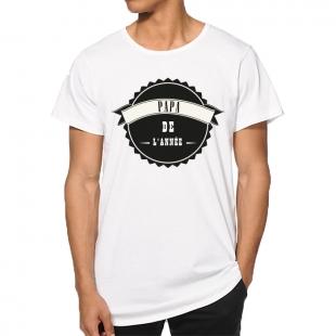 T-shirt Papa de l'année