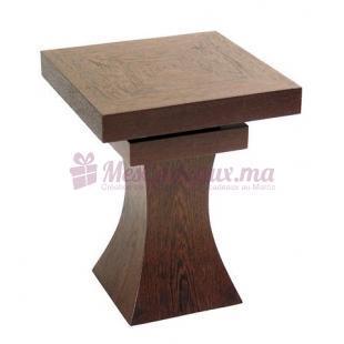 Table Cendrier en Bois - Modèle Edra