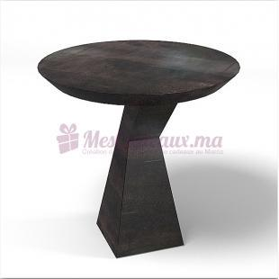 table cendrier en bois mod le onyx. Black Bedroom Furniture Sets. Home Design Ideas