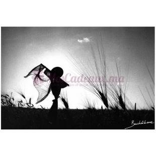 L'homme en paille (Photographie d'un artiste Marocain)