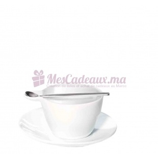 Tasse a espresso avec soucoupe et cuillère - ASA Selection