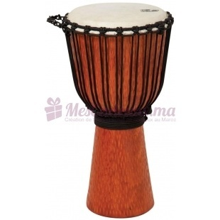 Djembe Large Street Series - Toca - Cherry Stain