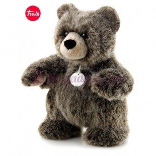 Grizzly Debout Silver Collection - Trudi - 30 cm