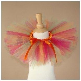 Tutus Bella Ballerina Orange et Rouge